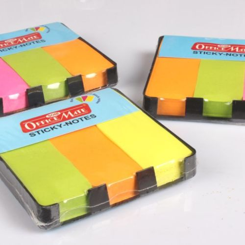Soni Office Mate - Sticky Note Pads Fluorescent (76 x 76) 1