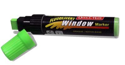Soni Office Mate - Jumbo Fluorescent Window Marker, Pack of 6 pcs 1