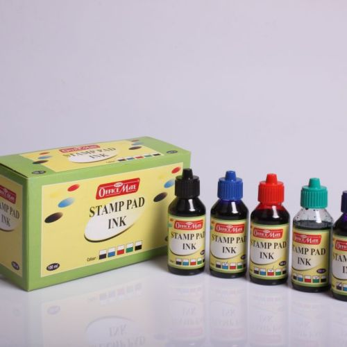 Soni Office Mate - Stamp Pad Refill Ink 100 ml - 1