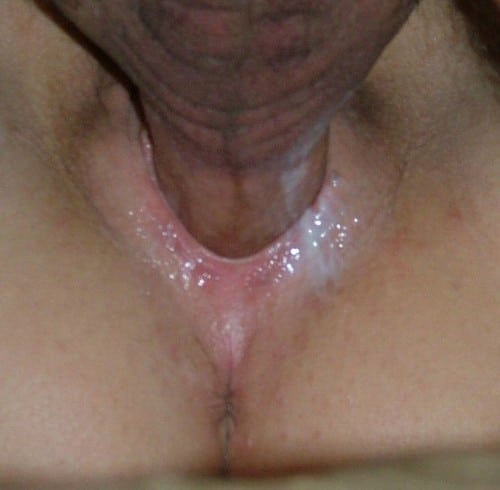 Ett knull med sprut i fittan