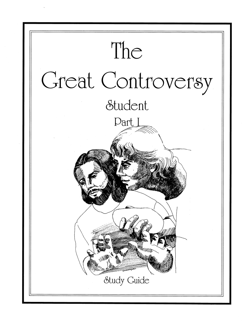 New Release: Great Controversy Study Guides