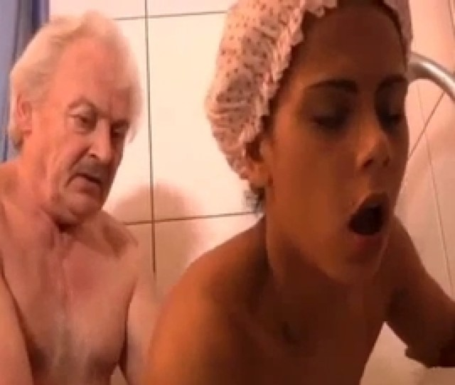 Grandpa Pounds A Toned Young Granddaughter