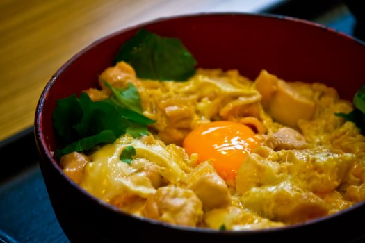 deliciou japanese oyakodon parent and child chicken egg rice