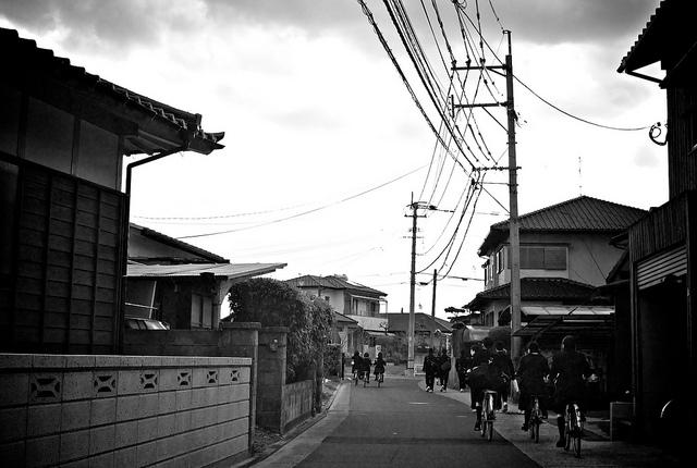 いつも通りの通学路