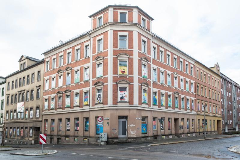 Chemnitz Sonnenberg  GGG saniert Altbauten Nach langem