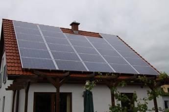 Solaranlage in Kleinbrembach bei Buttstädt