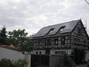 Q.Cells Module in Aalch bei Erfurt
