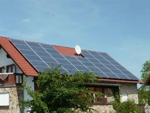 Photovoltaikanlage mit IBC-Solar in Bufleben bei Gotha