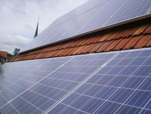 Photovoltaikanlage mit Q Cells in Leinatal bei Gotha