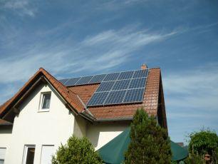 Photovoltaikanlage mit Q Cells in Schwansee in Thüringen