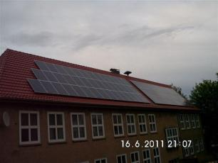 Photovoltaikanlage mit Q-Cells Modulen in Ifta