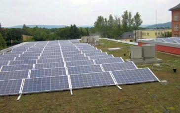 Solarstromanlage mit Q Cells in Saalfeld /Thüringen
