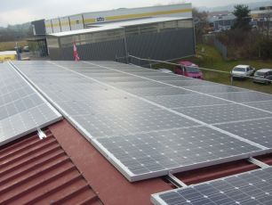 Photovoltaikanlage in Weissenburg in Bayern