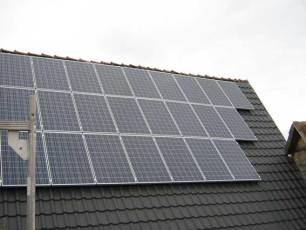 Solaranlage mit IBC Modulen in Bayern, LK Rhön-Grabfeld