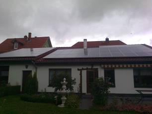 Solarstromanlage mit IBC Wechselrichter in Gotha