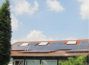 PV-Anlage mit Sunpowermodulen in Erfurt