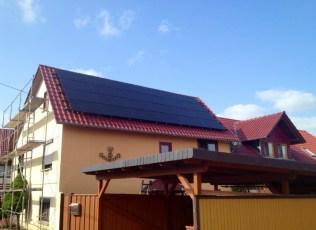 Photovoltaikanlage mit BenQ Modulen in Craula