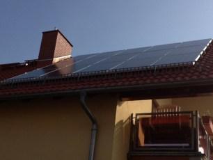 Ost-West-PV-Anlage mit IBC Modulen und SolarEdge Wechselricher in Gotha