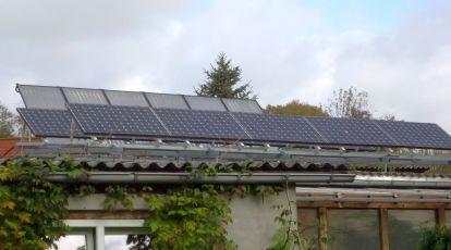 Solaranlage mit SPR-333-NE-WHT Modulen und SMA Wechselrichter in Großenlupnitz