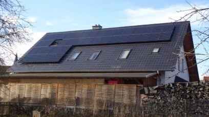 Benq Sun Forte PM96B00 325 Watt, Ostseite, mit Solar Edge Wechselrichter in Eisenach OT Stregda