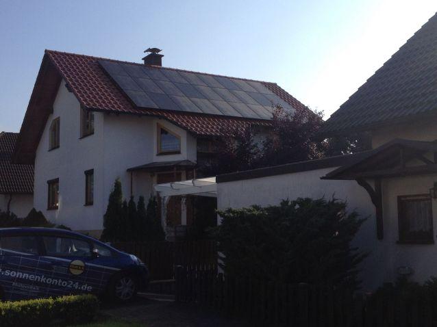 IBC und SolarEdge in Gumpelstadt