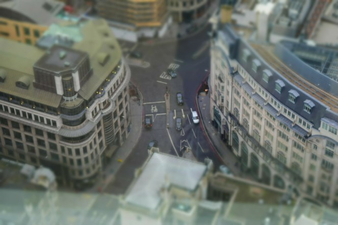 Yes, I tried tilt shift. Sorry!