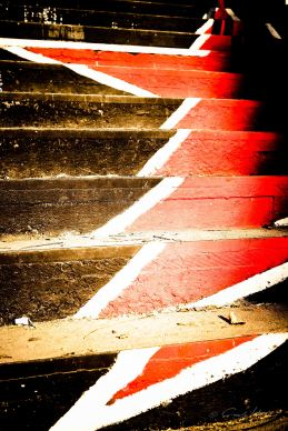 graffiti, rot, Roter Stern, Treppe, Exarchia, Athen, Politik, Athens, Greece, star, red, street art, stairs, Revolution