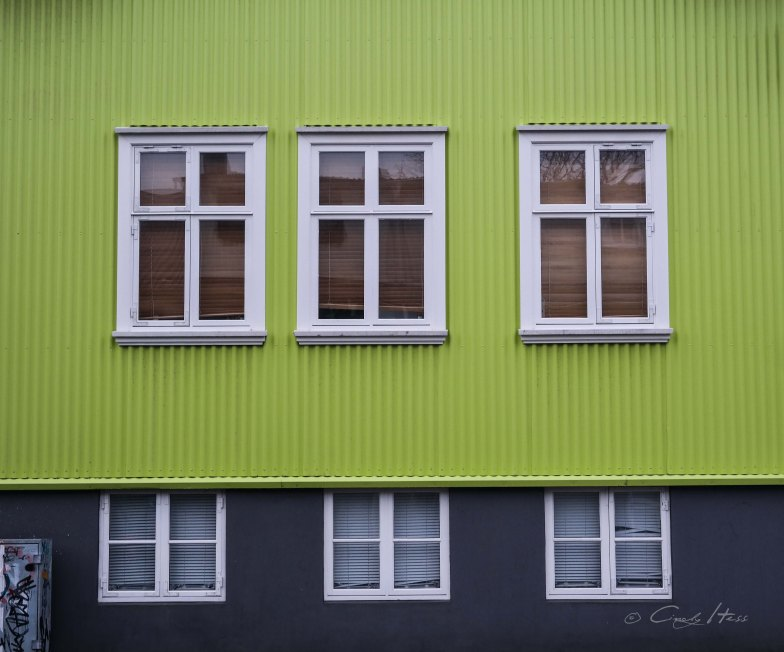 green house, colour, Farbe, bunt, Reykjavik