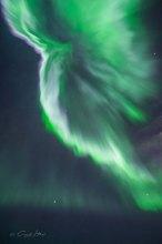 Island, Iceland, photography, Fotografie, Northern Lights, Aurora borealis, grün, green, Corona