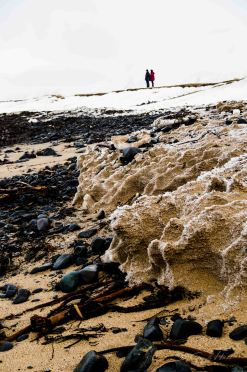 beach, Eis, Schnee, ice, snow, Island, Iceland, winter, Snaefellsness