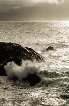 wave, Meer, sea, Iceland, Island, Snaefellsness, rocks, Felsen, Brandung