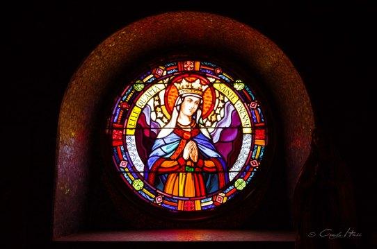 Bleiglas, Kirche, fenster, window, church, bunt