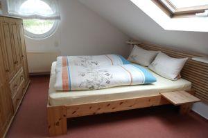 Schlafzimmer Ferienwohnung Nr. 4 Sonny Juist