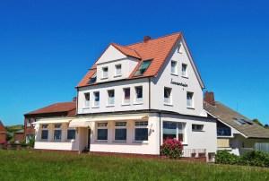 Das Haus Sonnenheim auf Juist, Ferienwohnungen und Fremdenzimmer