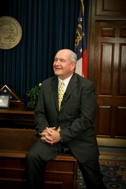 Georgia Governor Sonny Perdue  Biography