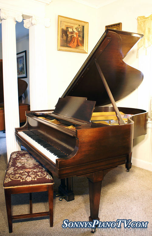 Steinway Grand Piano Model M 1926 Mahogany Excellent