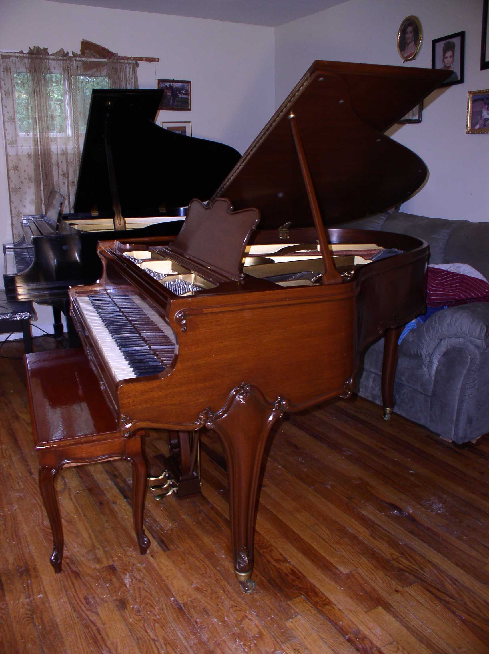 Sonny S Piano Tv Gorgeous Art Case Weber Baby Grand