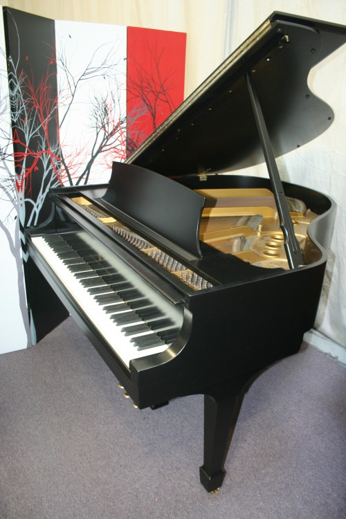 Steinway Baby Grand Piano Model S 5'1' Ebony Black 1952 (VIDEO) Just Refinished/Refurbished 9/15/2013 $15,500.