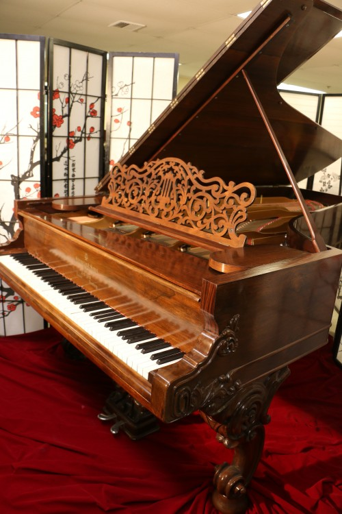 Rare Art Case Steinway Concert Grand (VIDEO) Model D Rebuilt & Refinished Rosewood $35,000.
