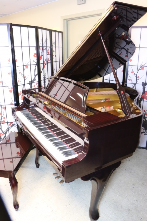 Art Case Piano Baby Grand Young Chang Burgundy (VIDEO) 1983 Showroom Condition $4950. (HOLIDAY SPECIAL FREE USA DELIVERY)
