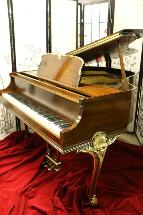 842 Wurlitzer Baby Grand Piano Refin Refurbished 10