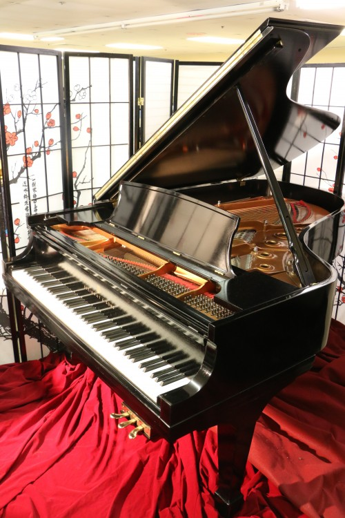 Steinway B Grand Piano 1982 (VIDEO) $29,500. Recent Total Rebuild & Refinish Semi-Gloss Ebony