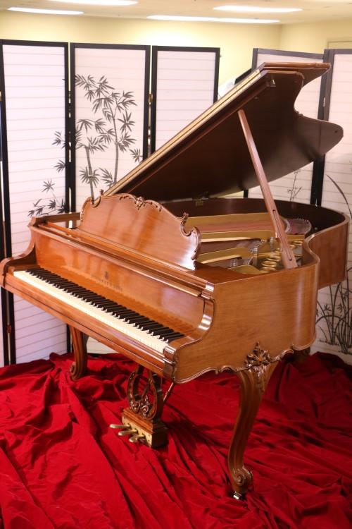 Steinway M King Louis XV Art Case Piano Walnut 1968 Pristine $23,500.