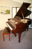Steinway Grand Piano Model M Excellent Original Steinway Parts New strings/Pins/refinished $17,500