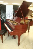 Steinway Model M 1933 Red Mahogany New Renner Blue Hammers & Shanks! Refurbished/Refinished 2013 $15,500.