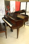 Art Deco Knabe Symmetrigrand Mahogany Refurbished $3950