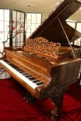Rare Art Case Steinway Concert Grand $25,500 (VIDEO) Model D Rebuilt & Refinished Rosewood