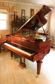 Gorgeous Art Case Vogel Grand 2009 Player Piano by Schimmel Pianos $17,500.