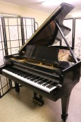 Steinway B 6'10.5 1960 Ebony Steinway Action Recently Upgraded & Regulated, New Finish $26,500