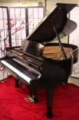 Ebony Steinway S 1990 Baby Grand Piano 5'1